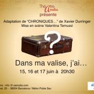 «Dans ma valise, j'ai…», l'Autre spectacle ;-)!